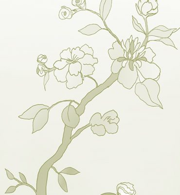 Casart coverings_Chinoiserie Mural Panel 3_CeladonGradient_464x864_temporary wallpaper