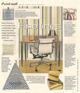 Casart coverings Stripes removable wallpaper is featured as fine lines in TP_Combined Stripes_Press_w