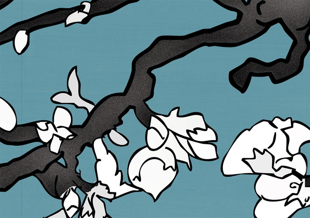 Almond Blossom Detail Van Gogh Blue 3_print size