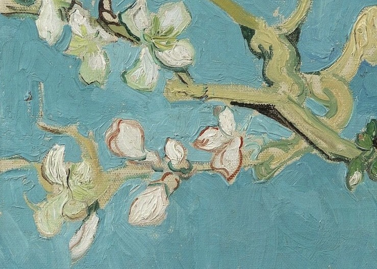 Detail example Van Gogh Almond Blossom_1
