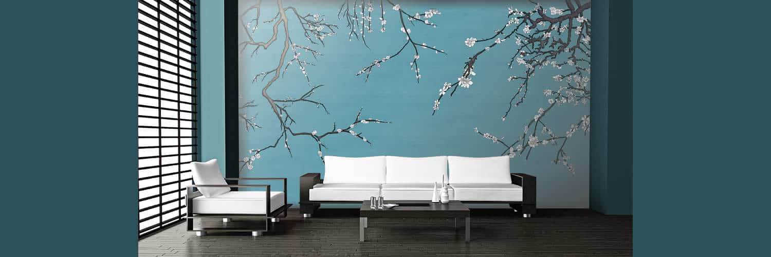 Asia Blossom Wraps Your Room in Stylish Serenity