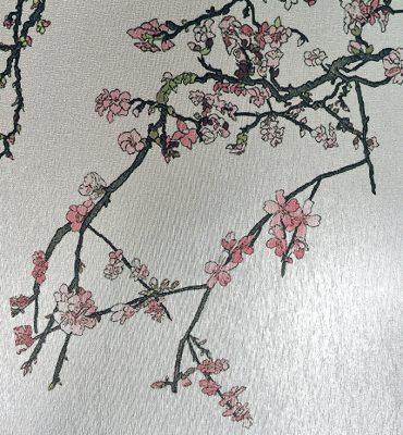 Casart Coverings Silver Metallic Casart Lustre self-adhesive wallpaper