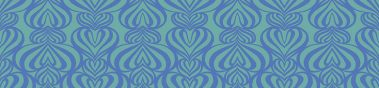 Lovelace Blue-Turquoise Pattern Repeat 2 POZdesigns for Casart Coverings removable wallpaper