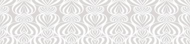 Lovelace White-Gray Pattern 1 Repeat POZdesigns for Casart Coverings removable wallpaper