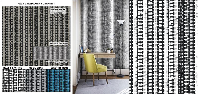 Introducing A Fresh Start with New Faux Grasscloth