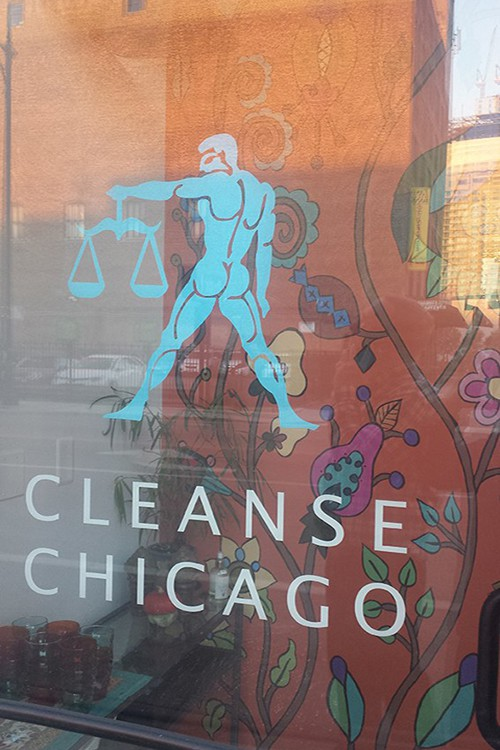 Cleanse Chicago Business uses Kristin Nicholas Pasture Casart reusable
