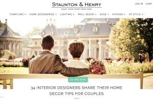 Casart Coverings is featured in Staunton Henry Interior Designers Shared Decor Ideas for Couples_Casart Press