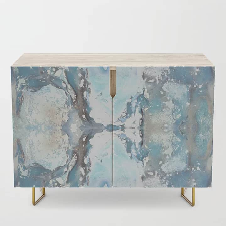 Casart Credenza Sea Spray Furniture Accessory