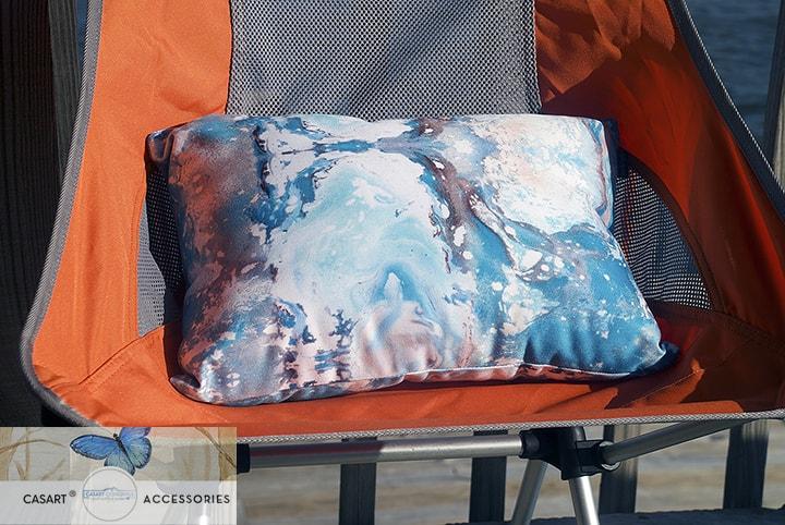Casart Sea Spray pillow for outdoor lifestyle decor