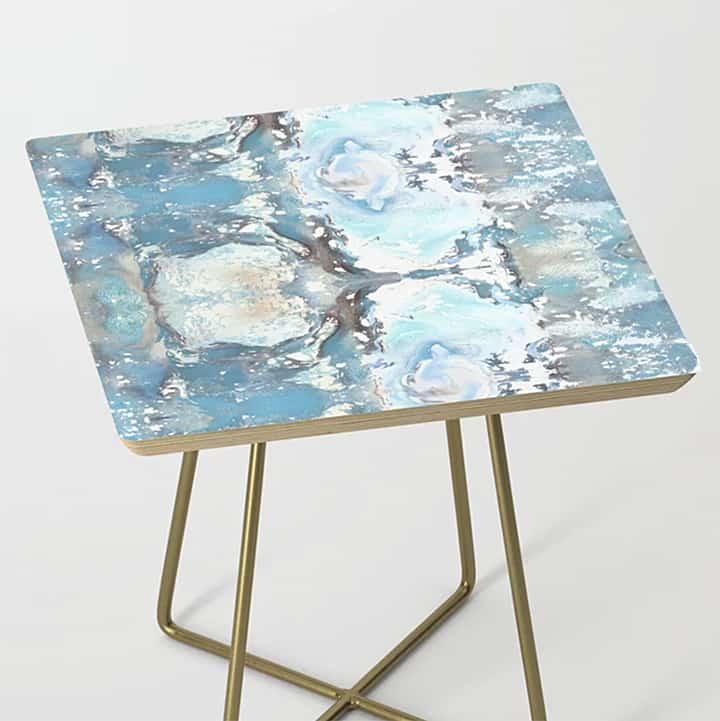Casart Side Table Sea Spray Furniture Accessory