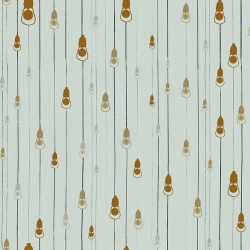 Casart Coverings Light Rain Pattern Camp colorway removable temporary wallpaper