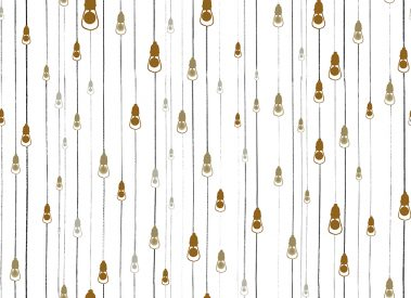 Casart Coverings Light Rain Pattern Golden colorway removable temporary wallpaper