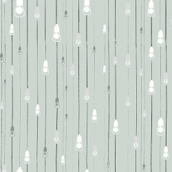 Casart Coverings Light Rain Pattern Afternoon Shower colorway removable temporary wallpaper