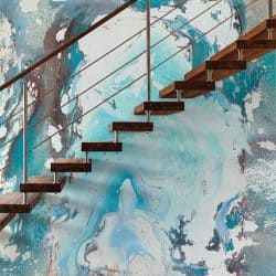 Casart Coverings removable wallpaper Sea Spray Mural Feature
