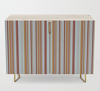 Casart Cabinet Sky Stripe Cradenza_Casart Furniture_Society 6 Shop