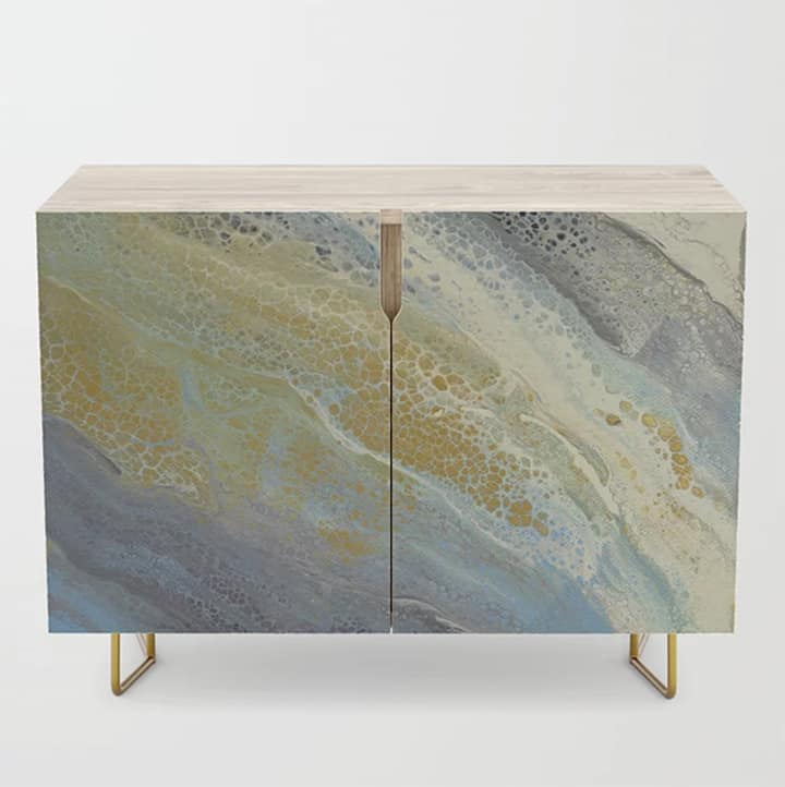 Casart Credenza Wave 1 Furniture Accessory