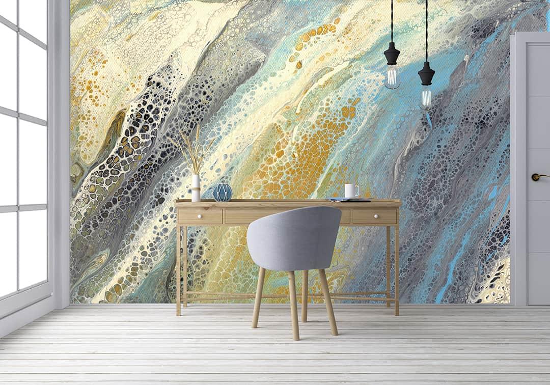 Wave Murals Sea Life Series Casart Coverings