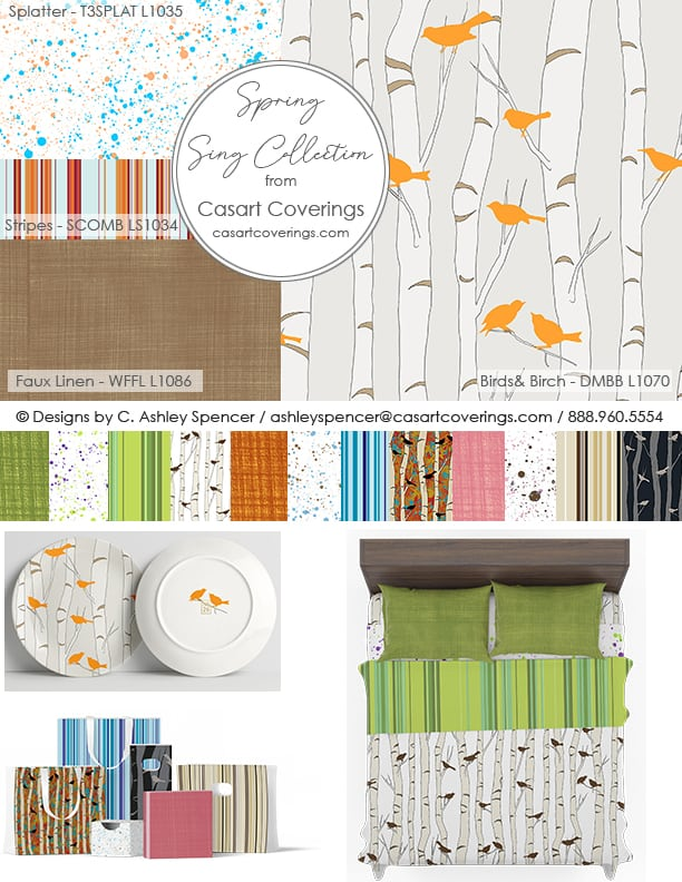 Casart Spring Sing Licensing Collection
