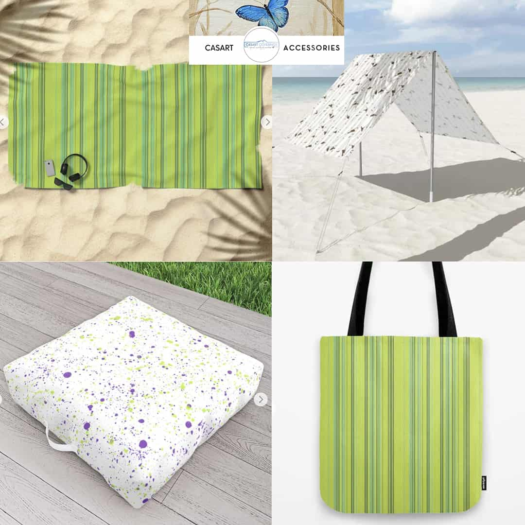 Casart Spring Sing Outdoor Accessories Collage