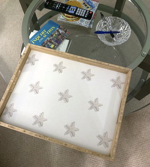 Casart Starfish Tray is durable and heavy