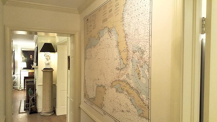 Casart Custom Navigational Map after installation