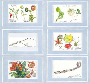 Casart Nature Noticed Panel 1 Bookcase Backing 4 artistic wallpaper