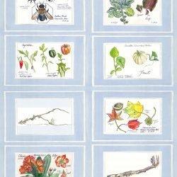 Casart Nature Noticed Panel 1 reusable designer wallpaper