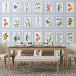 Casart Coverings Nature Noticed Panel 2 Gallery Wall in Dining Room